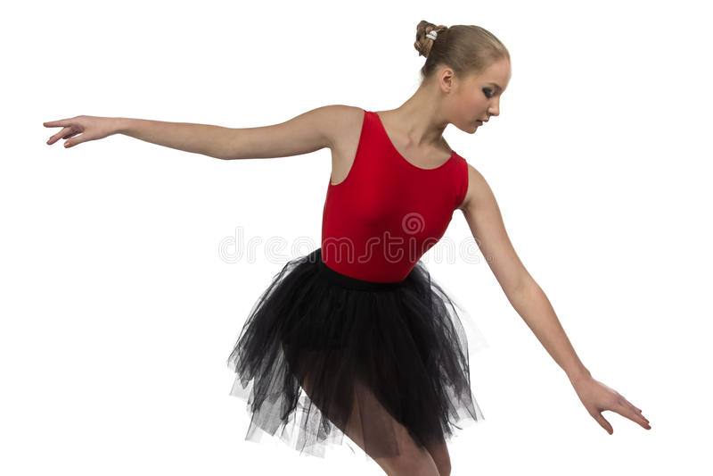 Wizerunek młoda balerina zdjęcie royalty free