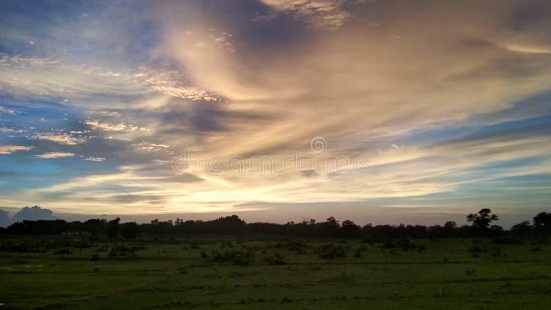 Wizerunek niebieskie niebo, natura obraz stock