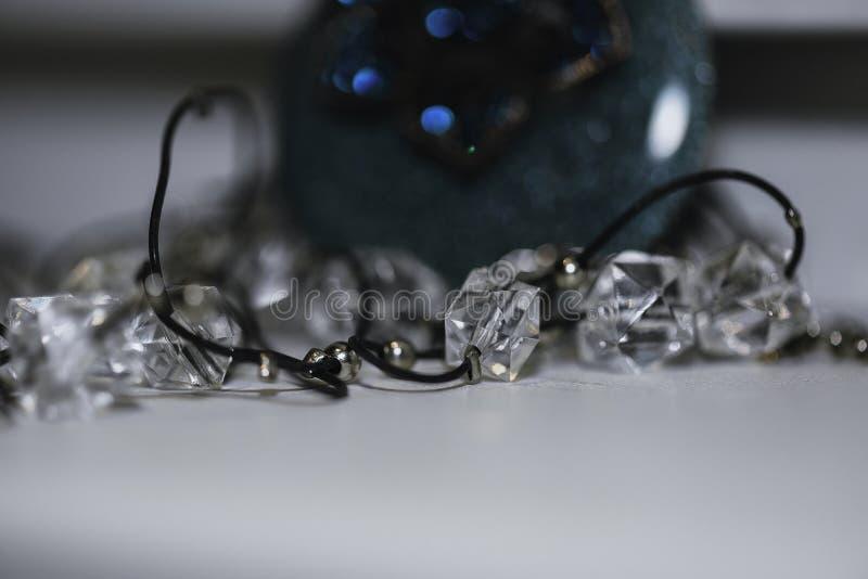 Wizerunek ornamentuje jewellery w makro- fotografia stock