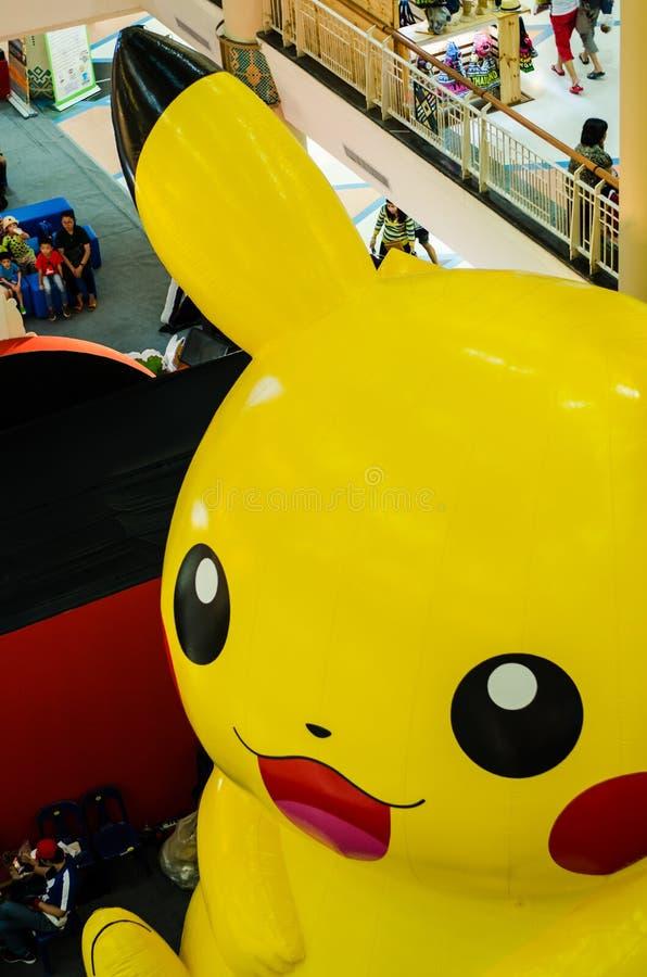 Wizerunek Pikachu obrazy royalty free