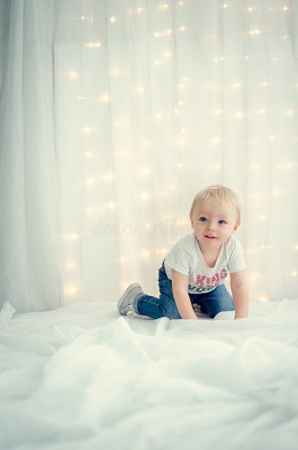Wizerunek słodka chłopiec obraz stock