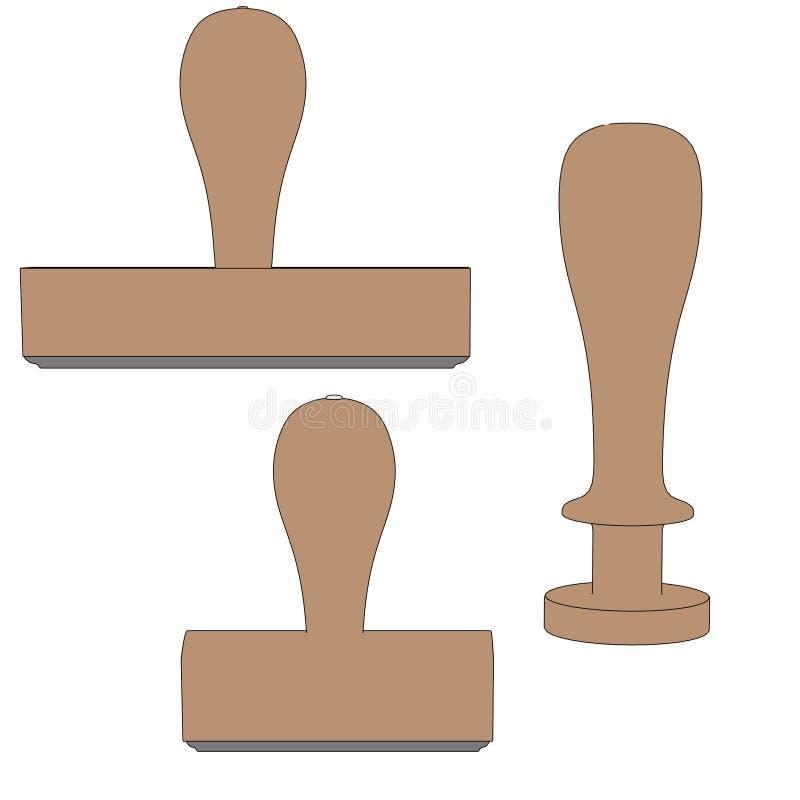 Wizerunek stemplowi narzędzia royalty ilustracja