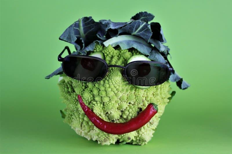 Wizerunek szalony warzywo - zabawa zdjęcia stock