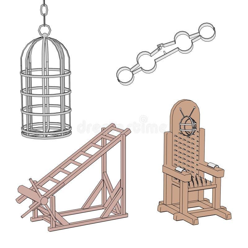 Wizerunek tortural narzędzia royalty ilustracja