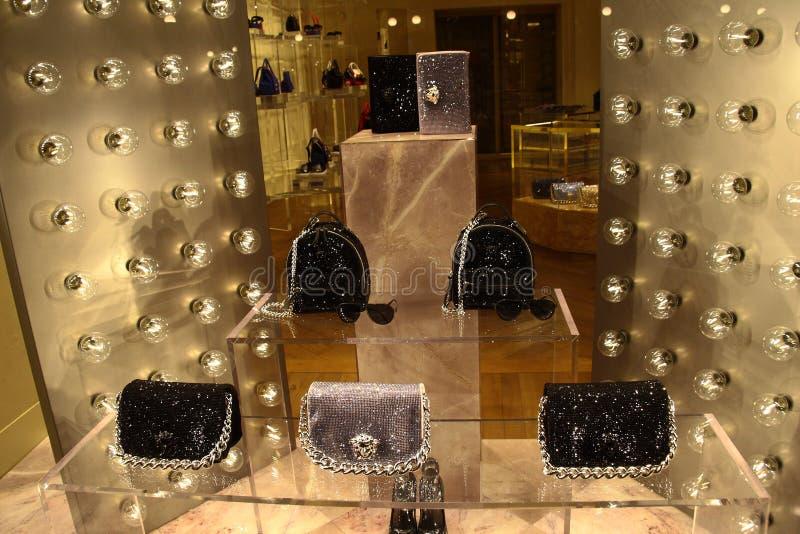Wizerunek Versace butik zdjęcia stock