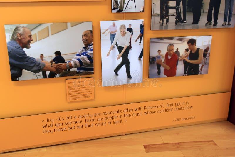 Wizerunki Mark Morris i jego taniec miłość, Krajowy tana muzeum, Saratoga, Nowy Jork, 2016 zdjęcie royalty free