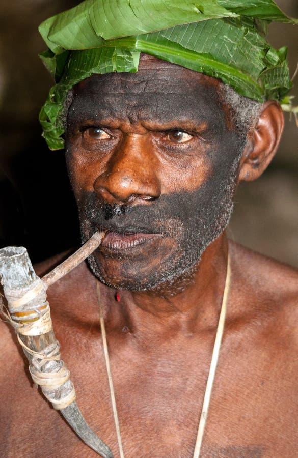 wizerunku mężczyzna Vanuatu obrazy stock