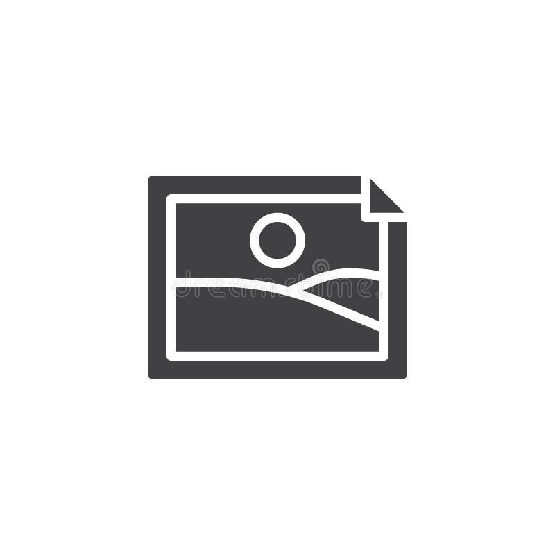Wizerunku obrazka ikony wektor ilustracja wektor