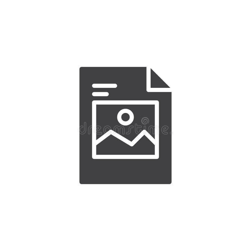 Wizerunku obrazka kartoteki wektoru ikona ilustracja wektor