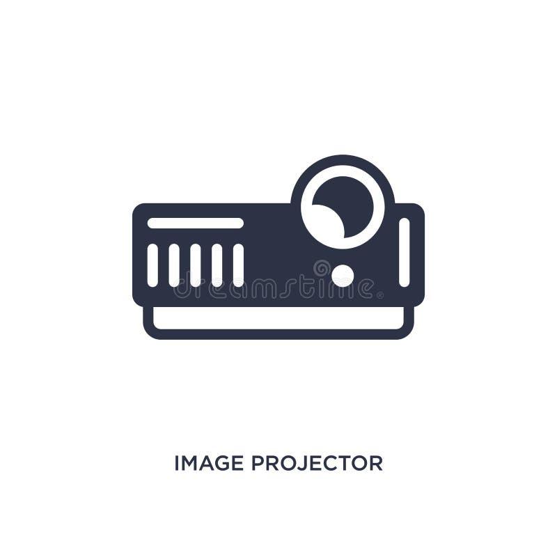wizerunku projektoru ikona na białym tle Prosta element ilustracja od Kinowego pojęcia ilustracji