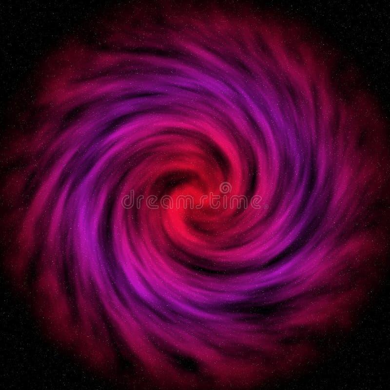 wizerunku przestrzeni zapasu vortex ilustracja wektor