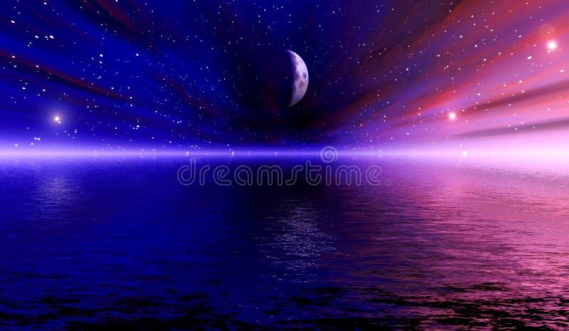 wizji przestrzeni ilustracja wektor