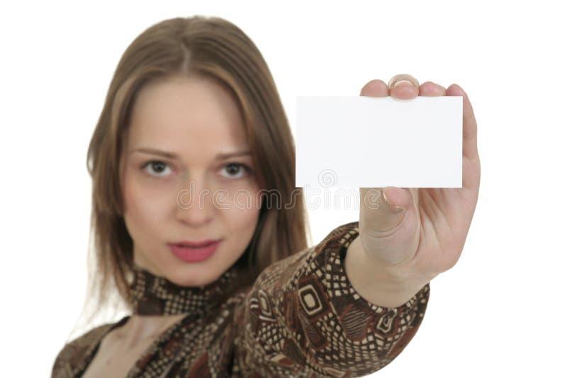wizytówka obrazy stock