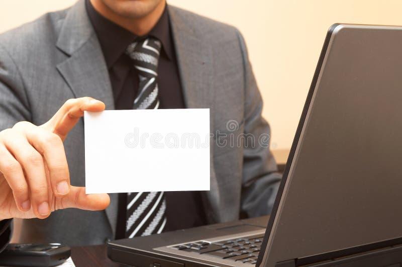 wizytówka zdjęcia stock