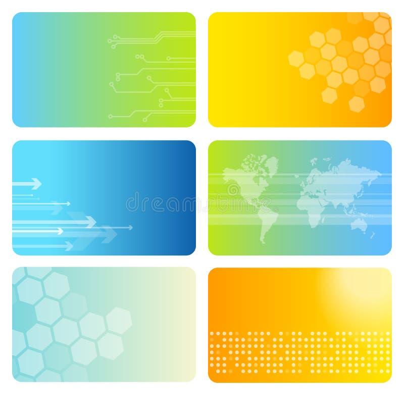 wizytówka kolorowe zestaw