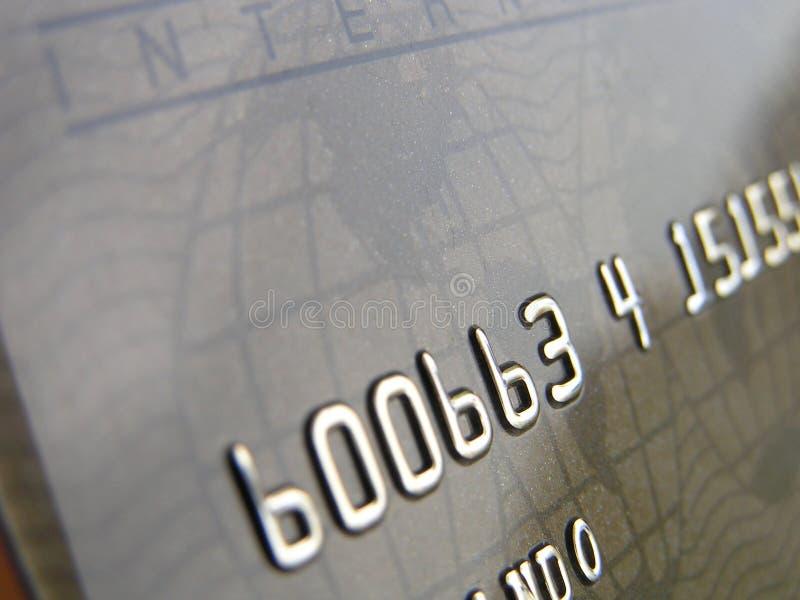 wizytówka kredytu obraz stock
