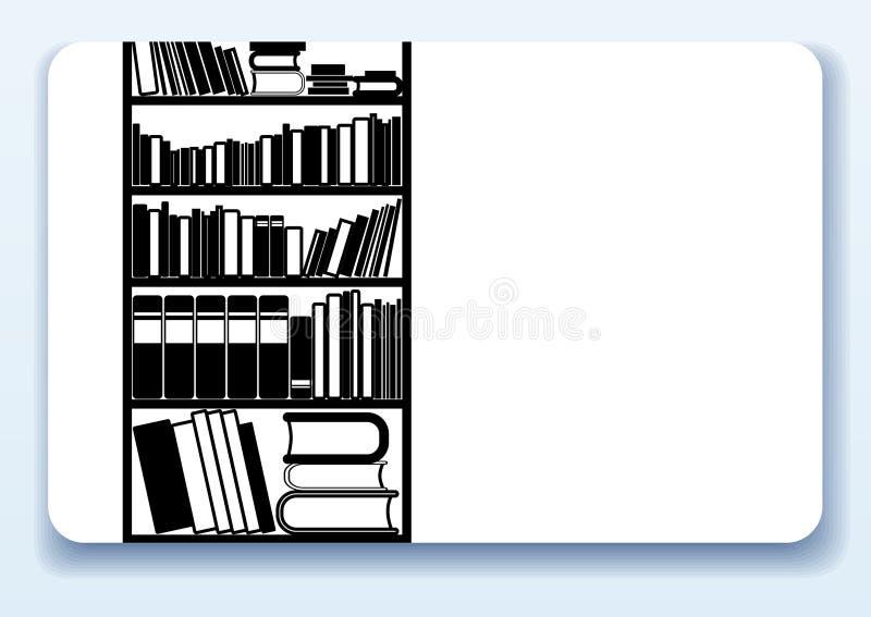 wizytówki biblioteka ilustracja wektor