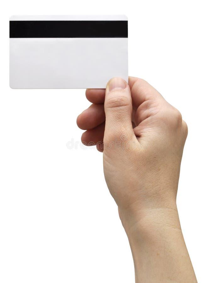 wizytówki ręka zdjęcie royalty free
