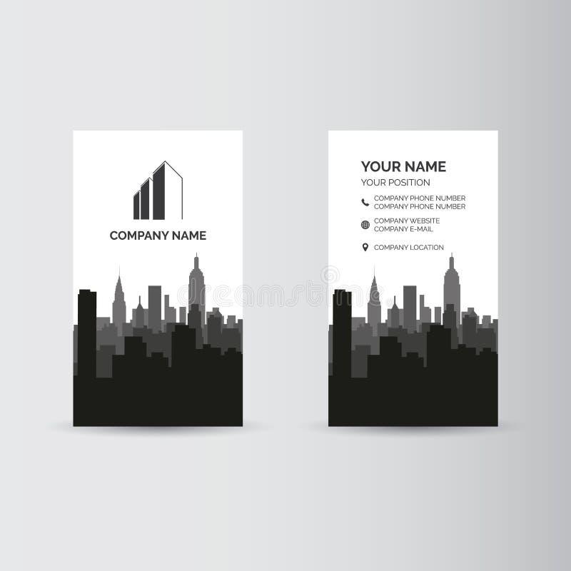 wizytówki szereg finansowe ilustracja wektor
