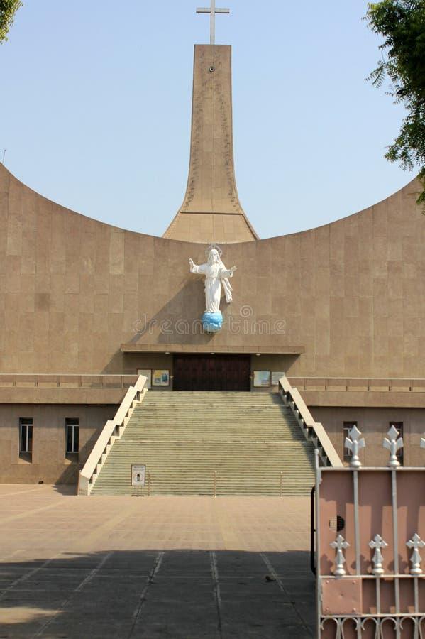Wizyta Lucknow miasto Nawabs ma, bogatych dziedzictwo budynki i także współczesne struktury zdjęcia stock