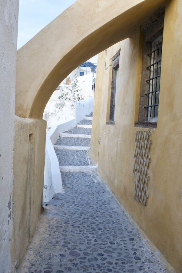 Wizyta w Santorini Grecja zdjęcie royalty free