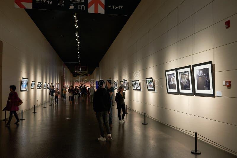 Wizyty muzeum sztuki zdjęcia stock