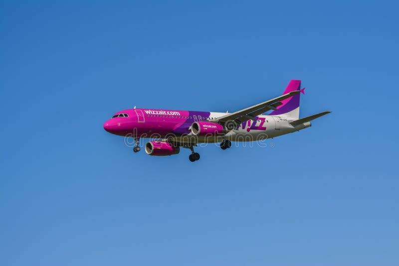 Wizz Air image libre de droits