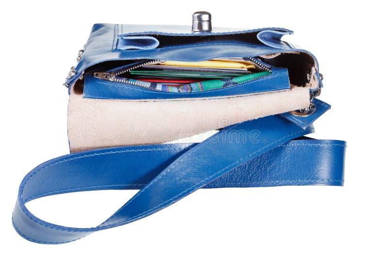 Wkładać do kieszeni małą żeńską torebkę fotografia royalty free