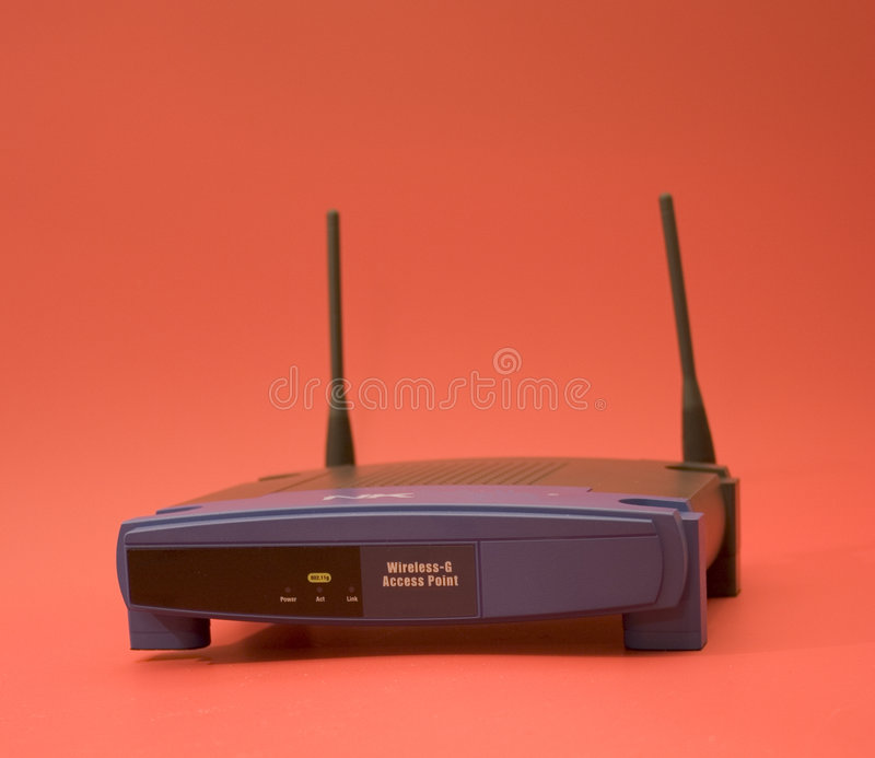 Wlan. Equipment royalty free stock photography