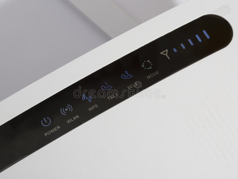 wlan router royaltyfri fotografi