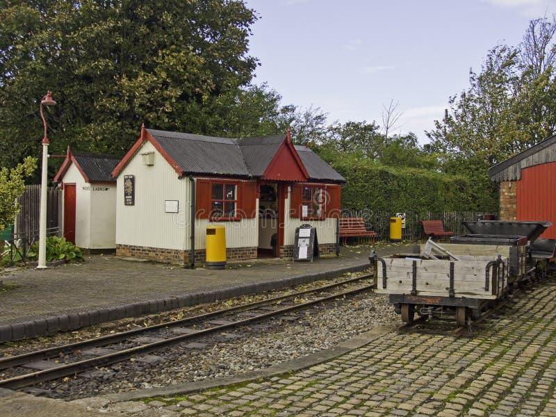WLLR-station royaltyfri bild