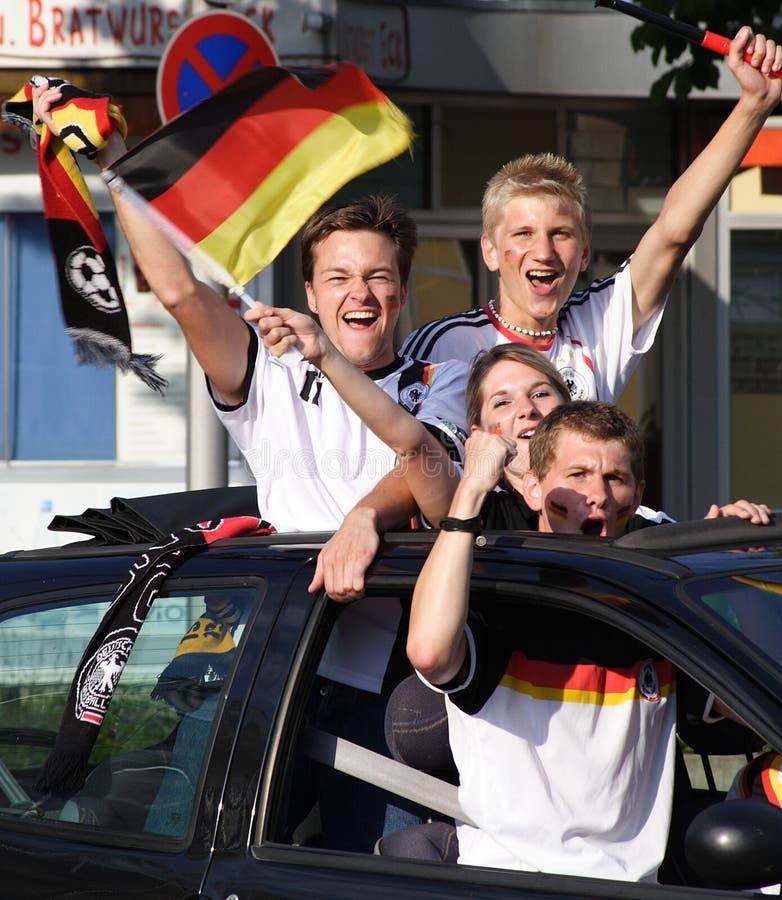WM 2010 Germany - England 4:1 royalty free stock photos