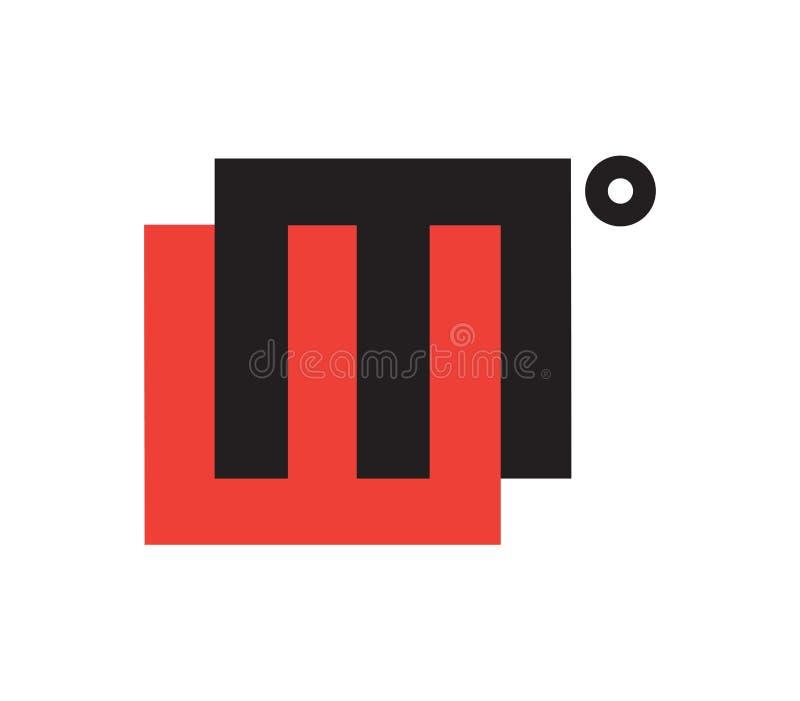 WM Logo Design Concept. Eps 8 supported vector illustration