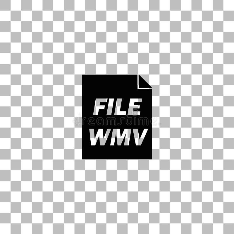 WMV-Ikonenebene lizenzfreie abbildung