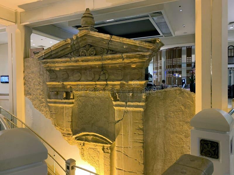 Wnętrze pięciogwiazdkowy hotelowy Herods w Eilat zdjęcia stock