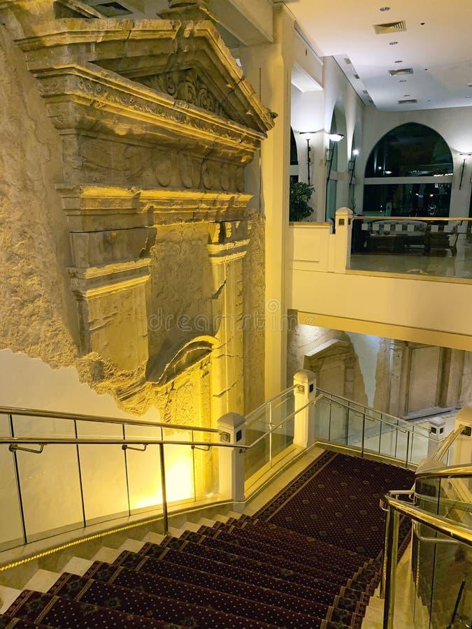 Wnętrze pięciogwiazdkowy hotelowy Herods w Eilat zdjęcie stock