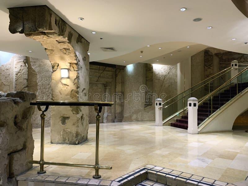 Wnętrze pięciogwiazdkowy hotelowy Herods w Eilat obrazy stock