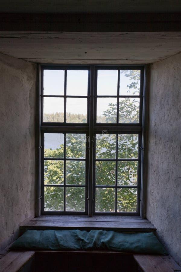 wnękowy okno zdjęcie stock