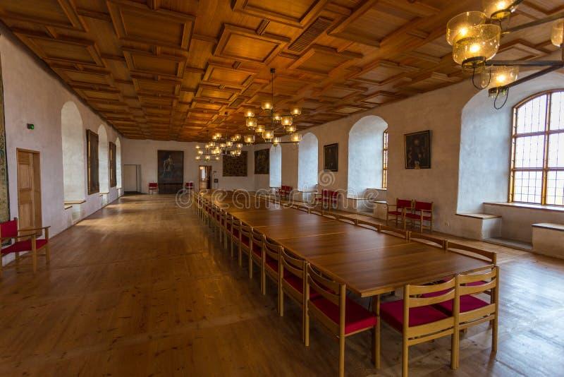 Wnętrza i szczegóły Turku Roszują w Finlandia zdjęcia royalty free