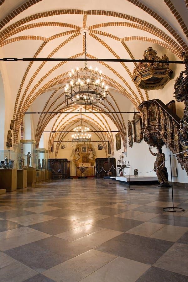 wnętrza komory stary zamek zdjęcie stock