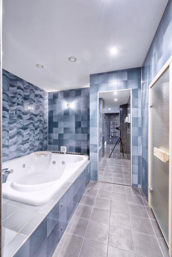 Wnętrze łazienka obrazy royalty free