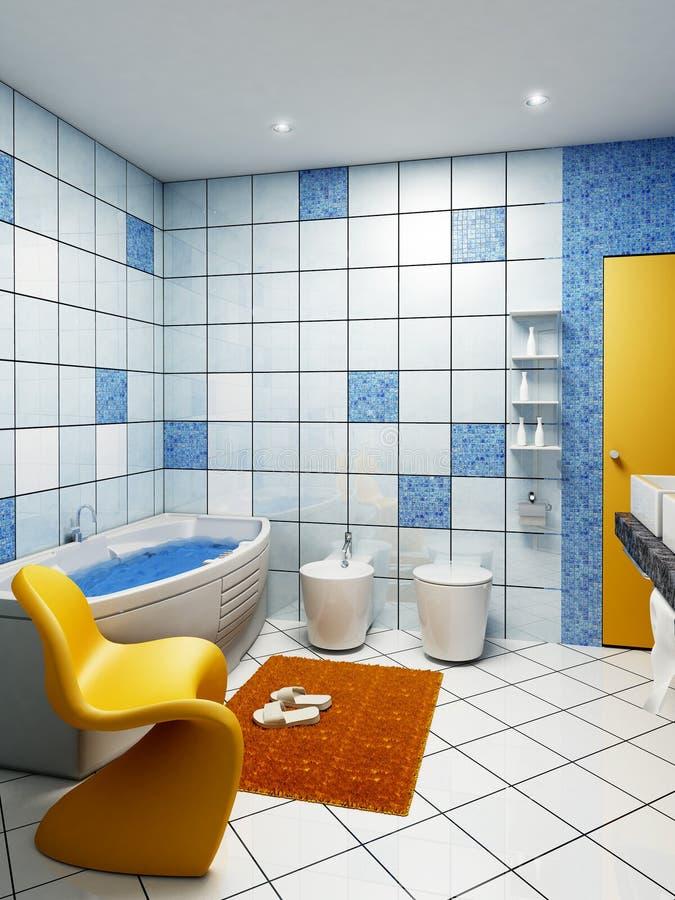 wnętrze łazienki ilustracja wektor