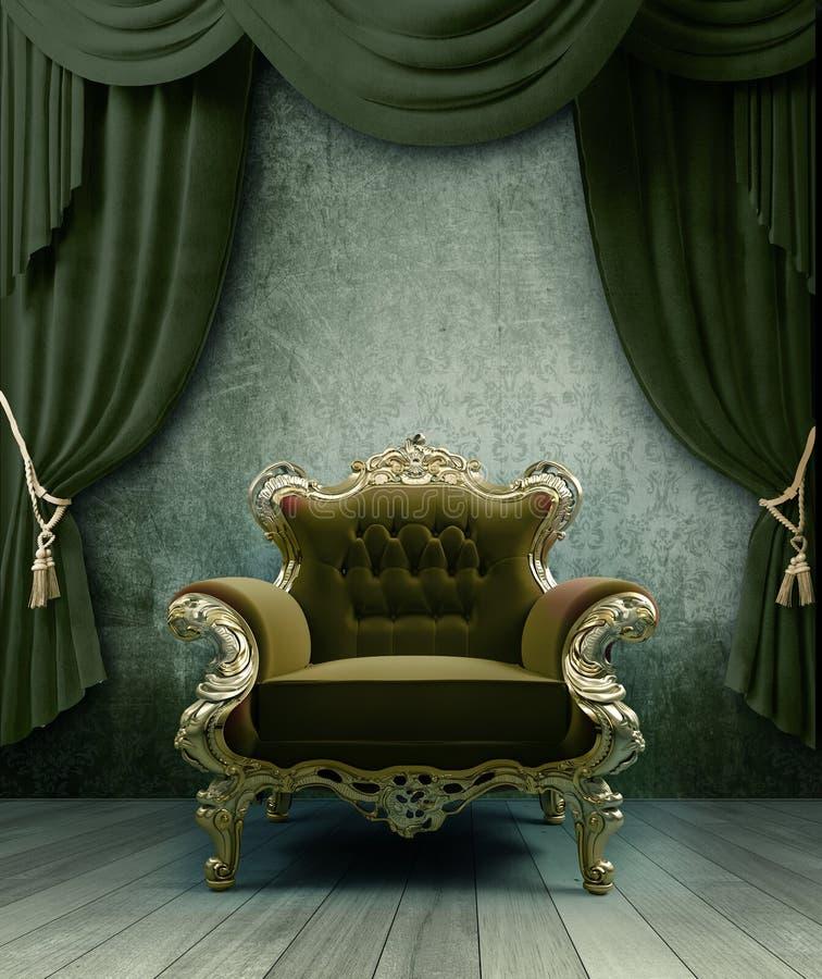 wnętrze royalty ilustracja