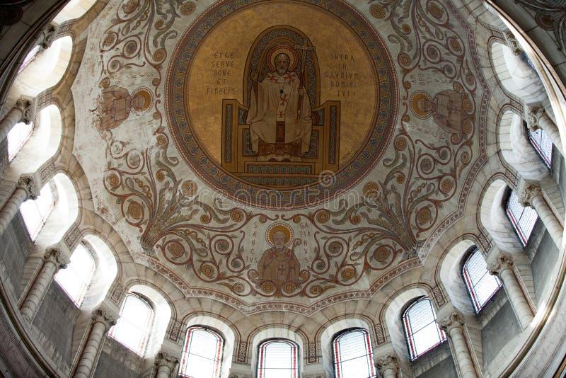 Wnętrze bazylika Martin, wycieczki turysyczne zdjęcia royalty free