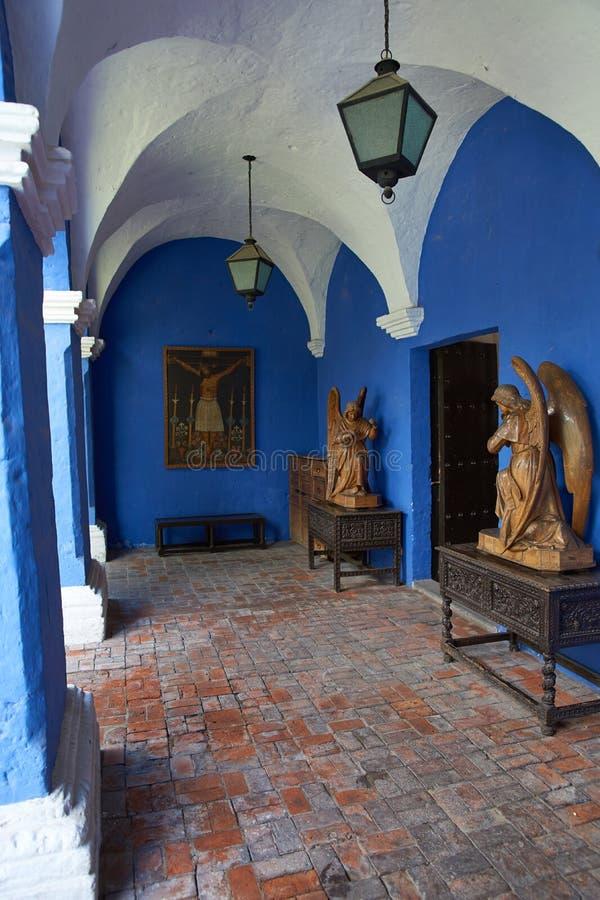 Wnętrze Casa Del Morał zdjęcia stock