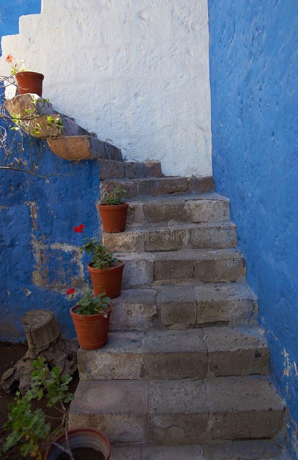 Wnętrze Casa Del Morał obrazy royalty free