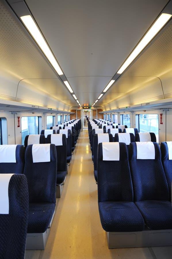 wnętrze chiński szybki pociąg obrazy stock