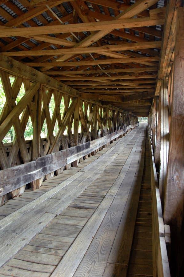 Wnętrze Clarkson Zakrywał most zdjęcia royalty free