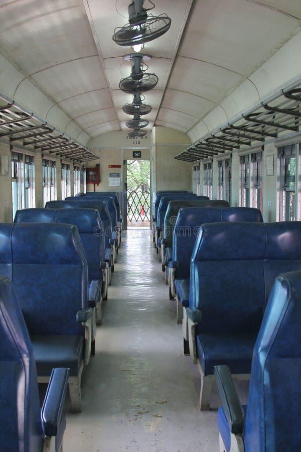 Wnętrze Dieslowski Elektryczny silnika pociąg Żadny 51 fotografia royalty free