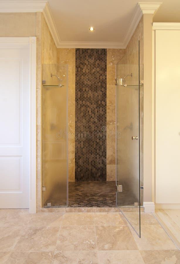 Wnętrze - Główna łazienka obrazy stock